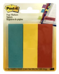 24 Units of PosT-It Page Markers 3m - Sticky Note & Notepads