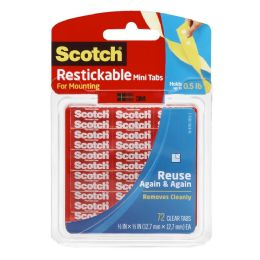 12 Wholesale Scotch Restickab Mounting Tab