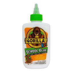 6 Units of Gorilla Kids School Glue Bottle 4 oz - Glue