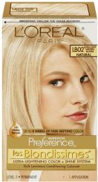 6 Units of L'oreal Paris Superior Preference FadE-Defying Shine Permanent Hair Color Extra Light Natural Blonde - Hair Products