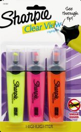 12 Units of Sharpie Clrview 3cd Assorted - Pens