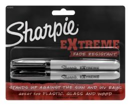 6 Units of Sharpie Extreme Permanent Marker Black - Markers and Highlighters