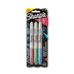12 Units of Sharpie Mtlic Fn Mkr Asst 3pk - Markers and Highlighters