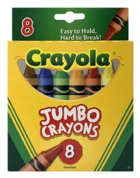 6 Units of Crayola Jumbo Crayons 8 - Crayon