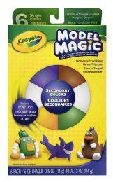 4 Units of Crayola Model Magic Single Packs 6 - Clay & Play Dough