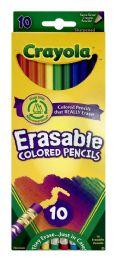 6 Bulk Crayola Erasable Colored Pencils 10 Count