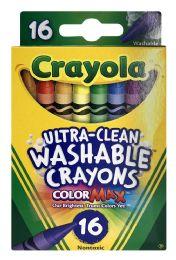 12 Units of Crayola Colormax Washable Crayons. - Crayon