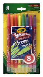 6 Units of Crayola Twistables Crayons - Crayon