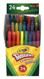 8 Units of Crayola Twinstables Cratons Mini Crayons 24 - Crayon