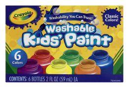 4 Units of Crayola Washable Kids Paint - Paint