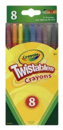 8 Units of Crayola Twistables Crayons - Crayon