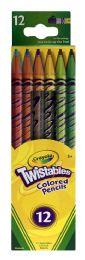 6 Bulk Crayola Twistables Colored Pencils