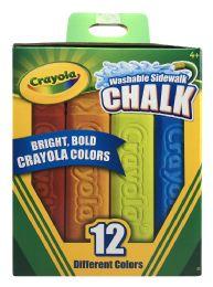4 Units of Crayola Washable Sidewalk Chalk - Chalk,Chalkboards,Crayons