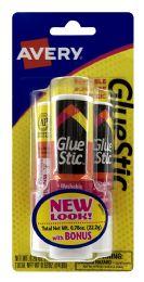 12 Units of Avery Glue Stic - Glue