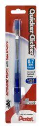 6 Wholesale Quicker Clicker Mechanical Pencil (0.7mm) Assorted Barrels 1-pk