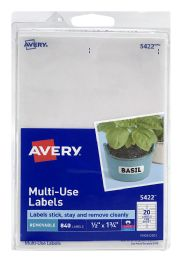 12 Wholesale Avery MultI-Use Labels