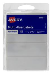 12 Wholesale Avery MultI-Use Labels Permanent