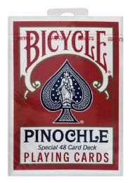 12 Units of Bicycle Pinochle Playing Cards 48 - Card Games