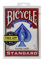12 Units of Bicycle Standard Playing Cards - Card Games