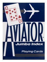 8 Units of Aviator Jumbo Index Playing Cards - Card Games