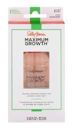 8 Units of Sally Hansen Maximum Growth Treatment 45107 Clear - Nail Polish
