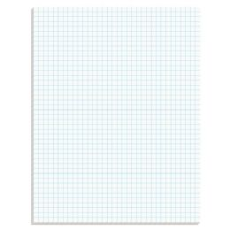 20 Wholesale Ampad Graph Pad, Glue Top, Graph Rule ( 4x 4), 50 Sheets