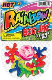 12 Wholesale Rainbow Big Jaxs 4.5x7