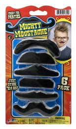 8 Wholesale Mighty Moustache Just Stick 'em On! 6.