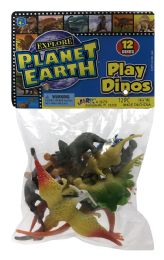 12 Wholesale JA-Ru Planet Earth Play Dinos