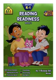 6 Units of School Zone Reading Readiness Book 1 - Books