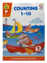 8 Units of School Zone A Get Ready! Book Counting 1-10 - Books