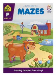 6 Wholesale School Zone Mazes A Get Ready! Book