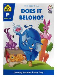 6 Units of School Zone A Get Ready! Book Does It Belong? - Books