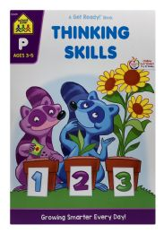 6 Units of School Zone A Get Ready Book Thinking Skills - Books
