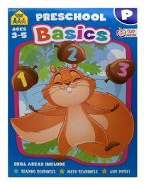 8 Units of School Zone Preschool Basics Ages 3-5 - Books