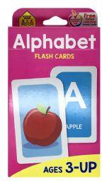 8 Units of School Zone Alphabet Flash Cards - Educational Toys