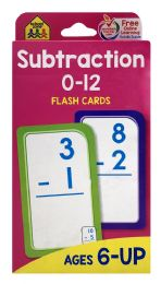 8 Units of School Zone Flash Cards - Educational Toys