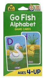 8 Wholesale School Zone Go Fish Alphabet Game Cards