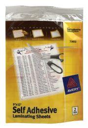 24 Wholesale Avery Self Adhesive Laminating Sheets