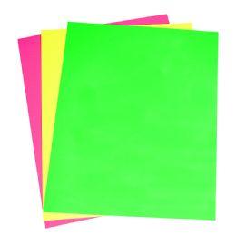 24 Wholesale Neon Poster Brd 3ct Asst 22x28