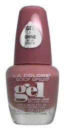 6 Units of L.a. Colors Color Craze Extreme Shine GeL-Like Polish Cnp703 Mademoiselle - Nail Polish