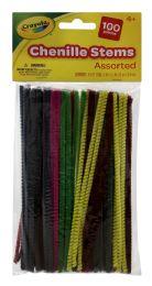 12 Units of Crayola Chenille Stems - Arts & Crafts