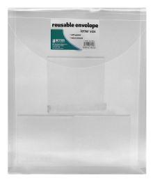 12 Wholesale Better Office Products Reusable Envelope Letter Size