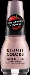 6 Units of Sinful Nail Quick Bls Ice Chry - Nail Polish