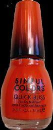 6 Units of Sinful Nail Quick Bls Ch Chase - Nail Polish