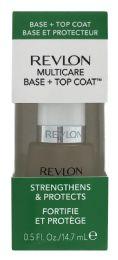 4 Units of Revlon Multicare Base + Top Coat - Nail Polish