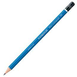 24 Wholesale Staedtler Lumograph 100-2h Drawing Pencil 2h, 12 Count