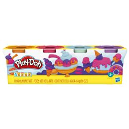 8 Units of Hasbro PlaY-Doh Modeling Compound 4-Ounce Cans 4-Pack - Clay & Play Dough