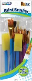 12 Units of Artskills Paint Brushes 25ct - Paint