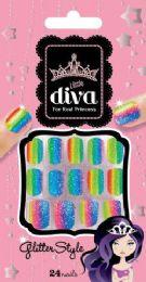 8 Units of Lil Diva Crystal Persuasion - Nail Polish